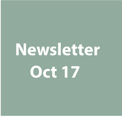 Newsletter - October 2017