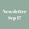 Newsletter - September 2017
