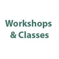 Workshops & classes text.