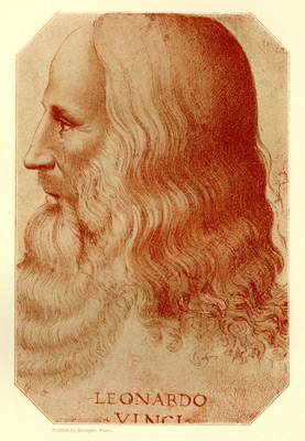 portrait of da Vinci