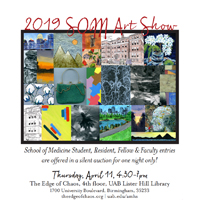 2019 School of Medicine Art Show