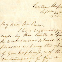 Library Welcomes Additional Florence Nightingale Letters