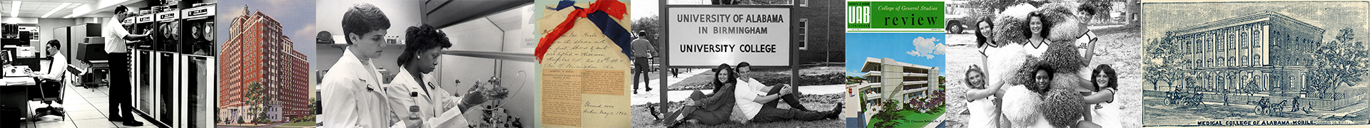 A series of images from the UAB Archives