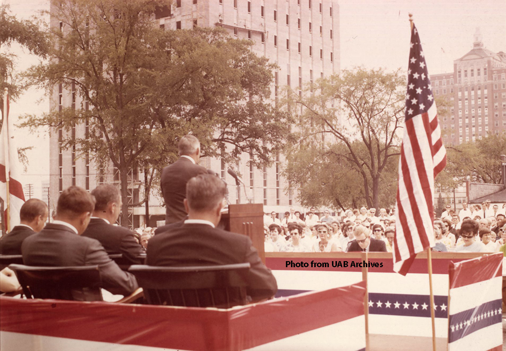 Expansion Groundbreaking Ceremony, July 30, 1968