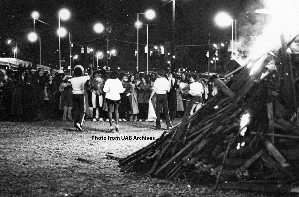 Homecoming Bonfire, 1979