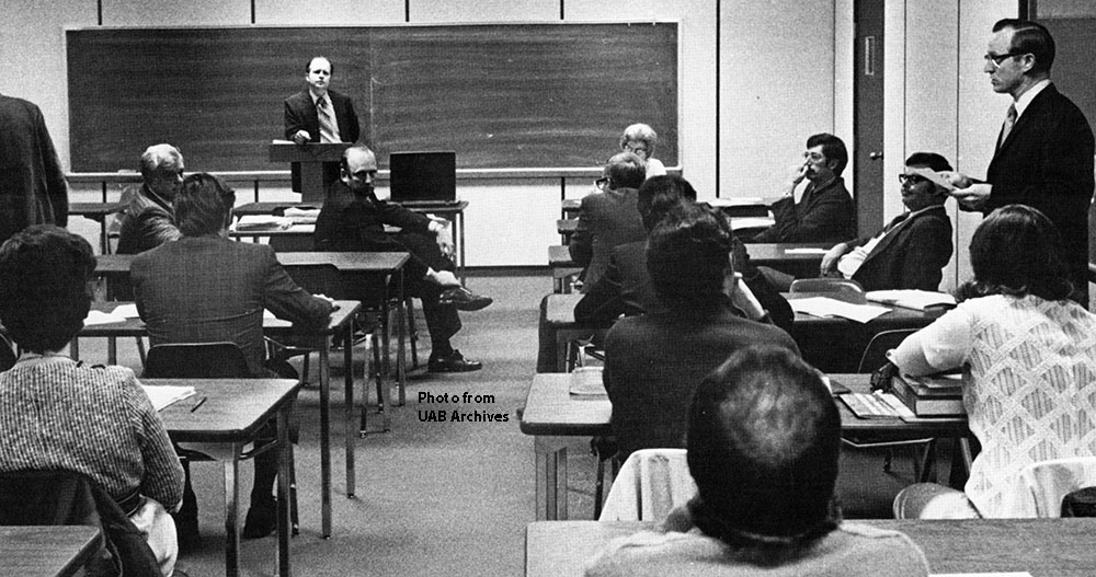 College of General Studies Senate, circa 1971