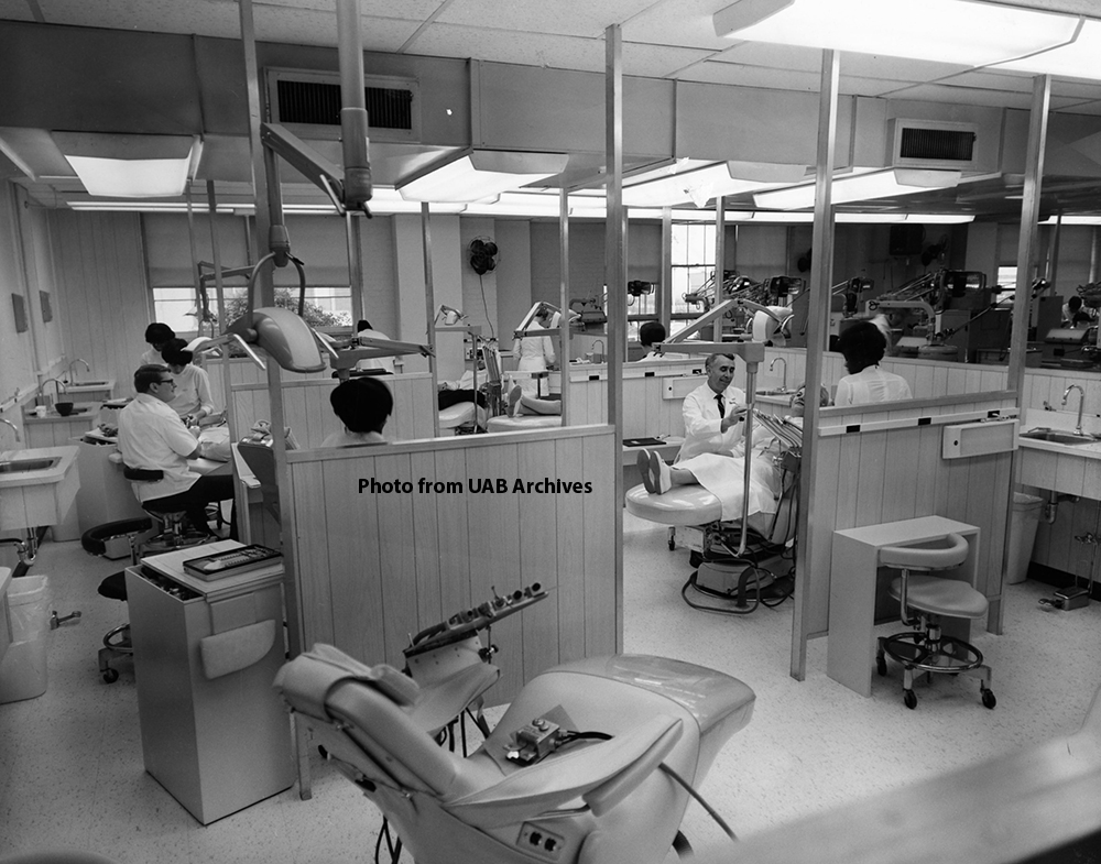 Clinical instruction in the dental clinic, 1969