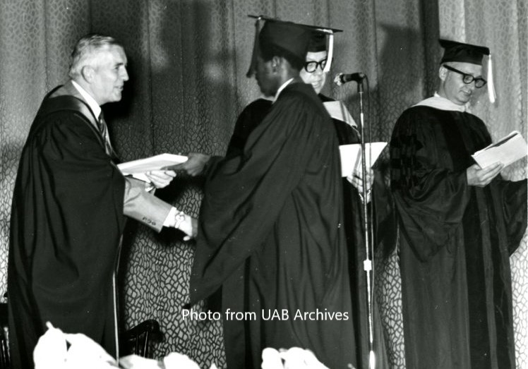 UAB's First Commencement Ceremony, June 7, 1970