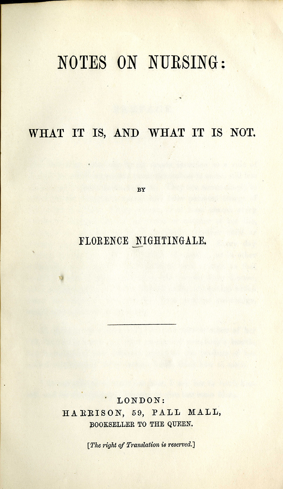 The Life Of Florence Nightingale Libraries Uab